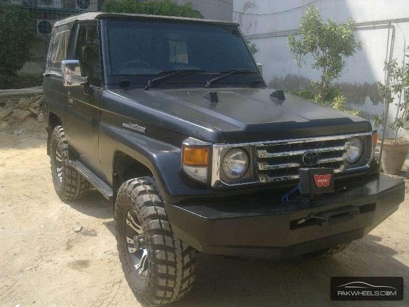 Toyota Land Cruiser 1988 for sale in Karachi | PakWheels