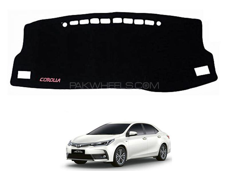 Toyota Corolla 2014-2021 High Quality Dashboard Mat in Karachi