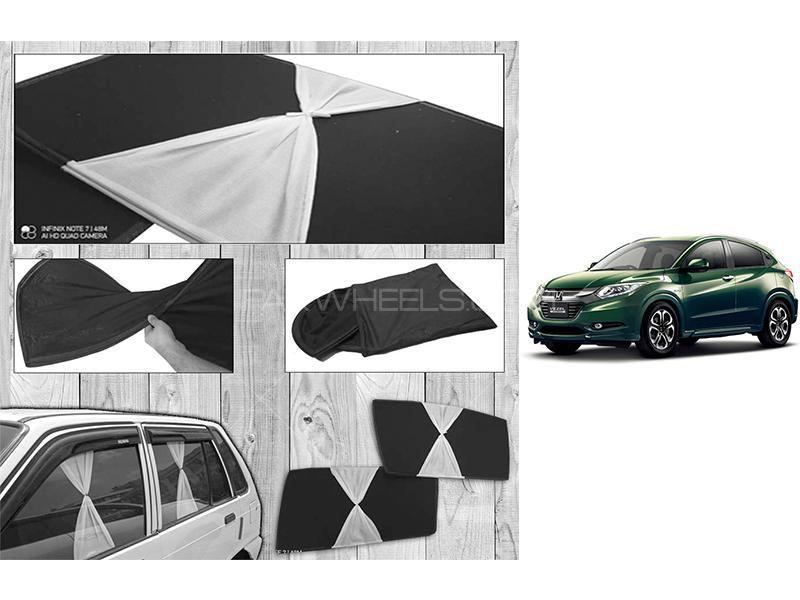 Honda Vezel 2013-2021 Fancy Design Foldable Sun Shades  in Karachi