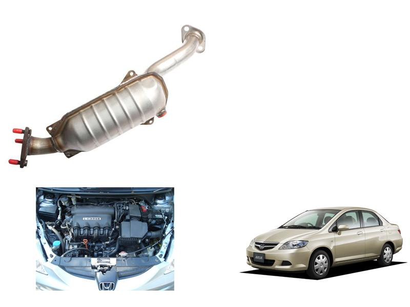Honda City 2003-2008 IDSI Catalytic Converter Set in Faisalabad