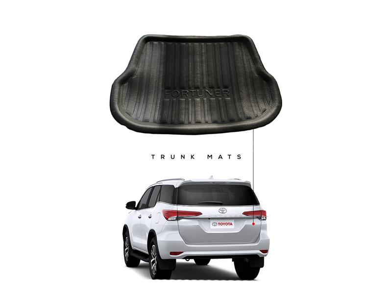 Toyota Fortuner 2016-2021 Marflex Trunk Mat Tray in Lahore