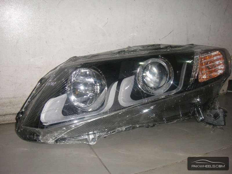 Head Light CIVIC 2012 VER-1 Projection Black new Image-1