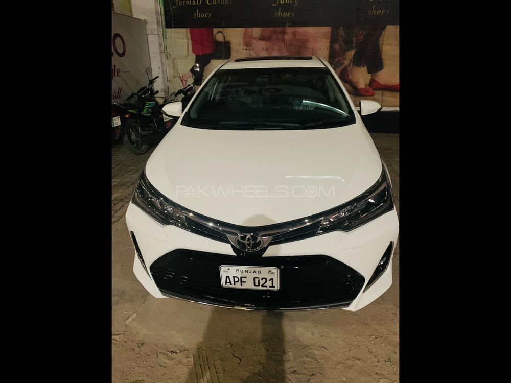Toyota Corolla Altis Grande CVT-i 1.8 2021 Image-1