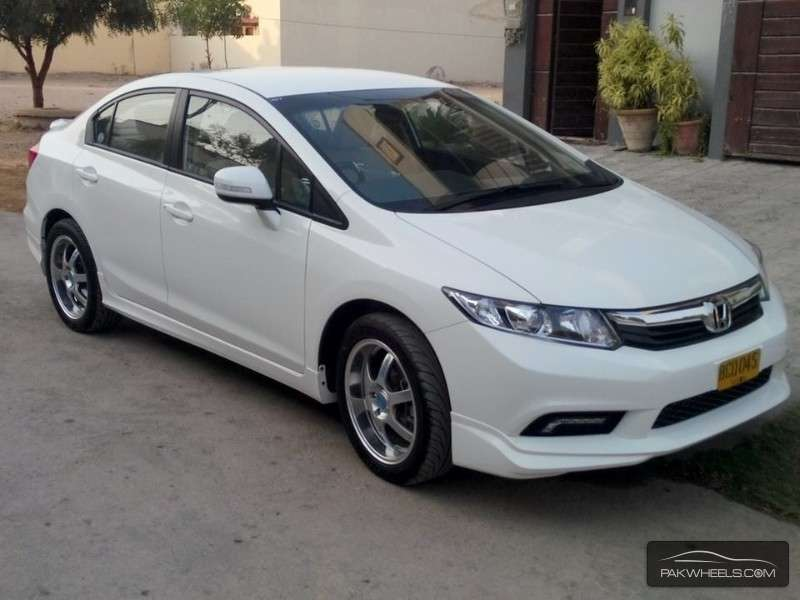 honda civic 2014 for sale in karachi pakwheels. Black Bedroom Furniture Sets. Home Design Ideas