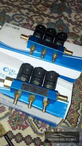 4 / 6 Cylinder FUEL INJECTOR CNG/LPG KIT (imported) Image-1