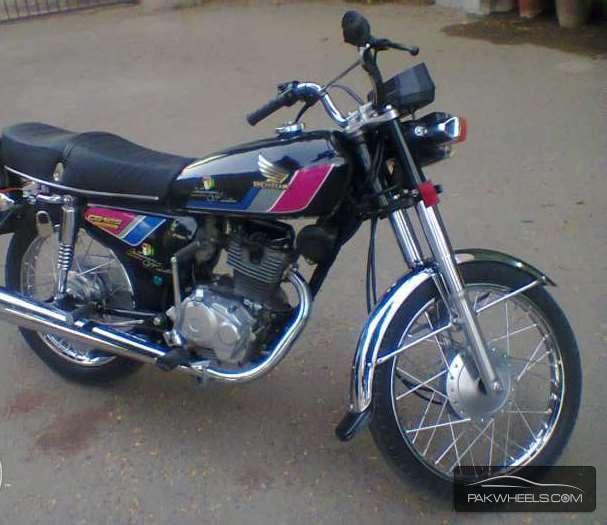 used honda cg 125 1997 bike for sale in multan - 130184 | pakwheels
