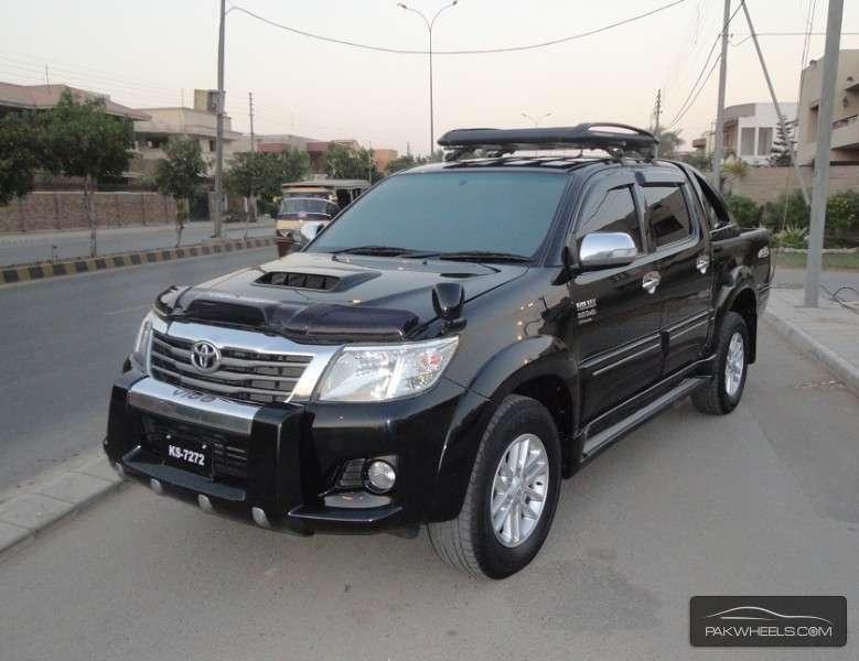 Used Toyota Hilux Vigo Champ Grade G 2012 Car For Sale In Karachi