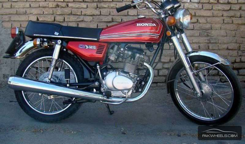 used honda cg 125 1982 bike for sale in islamabad   130297 pakwheels