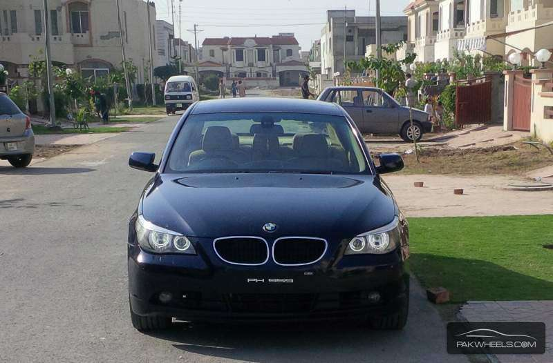 bmw 5 series 530d 2004 for sale in lahore pakwheels. Black Bedroom Furniture Sets. Home Design Ideas