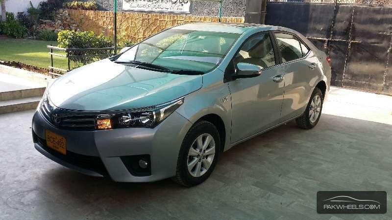Toyota Corolla Altis Grande 1 8 2014 For Sale In Karachi