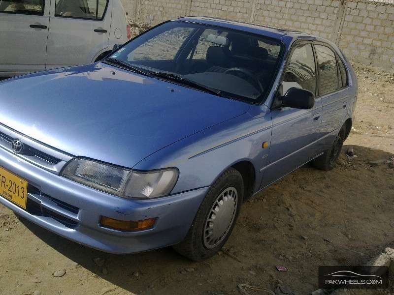 toyota corolla xli 1995 for sale in karachi pakwheels. Black Bedroom Furniture Sets. Home Design Ideas