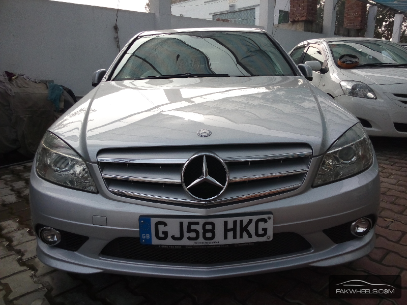 Mercedes benz c class c200 2008 for sale in lahore pakwheels for Mercedes benz c class 2008 for sale