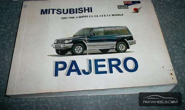 Mitsubishi Pajero Auto Manual Book Image-1