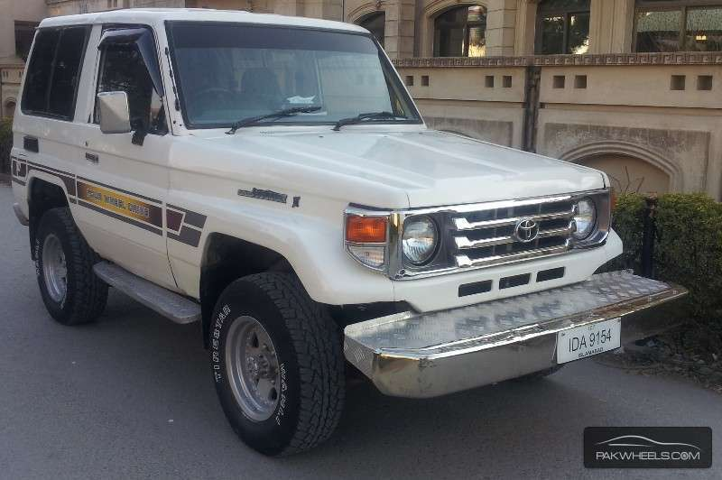 used toyota land cruiser 1985 car for sale in islamabad 1062660 pakwheels. Black Bedroom Furniture Sets. Home Design Ideas