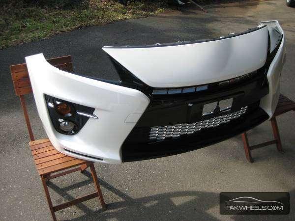 prius gs front bumper Image-1