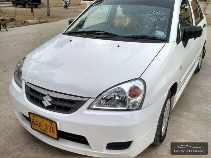 used suzuki liana 1 3 rxi cng 2013 car for sale in hyderabad 1070325 pakwheels. Black Bedroom Furniture Sets. Home Design Ideas