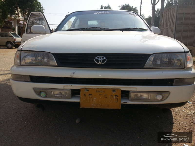 used toyota corolla xe 1996 car for sale in karachi 1070321 pakwheels. Black Bedroom Furniture Sets. Home Design Ideas