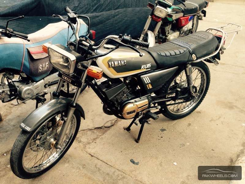 Used yamaha rx 115 1984 bike for sale in karachi 128503 for Yamaha rx115 motorcycle for sale
