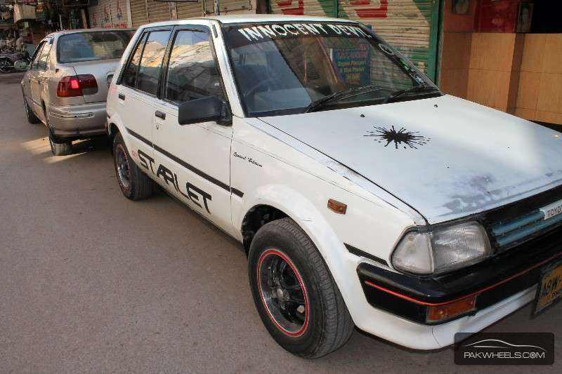 Toyota Starlet 1986 Image-1