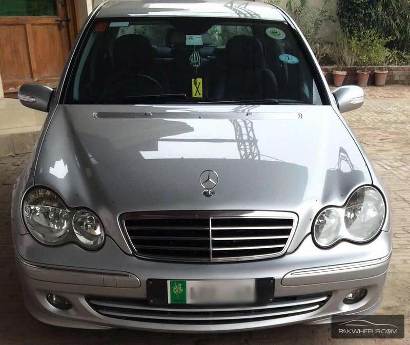 Mercedes benz c class c200 2006 for sale in lahore pakwheels for Mercedes benz c class 2006 for sale