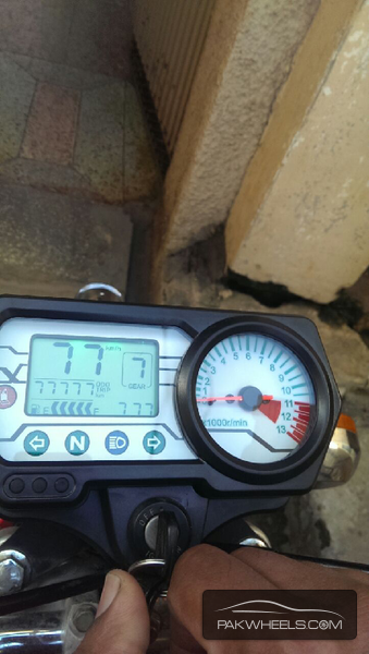 digital meter for all bikes time show gage gair For Sale Image-1