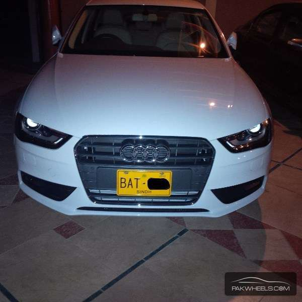 Used Audi A4 Saloon 2013 Car For Sale In Karachi