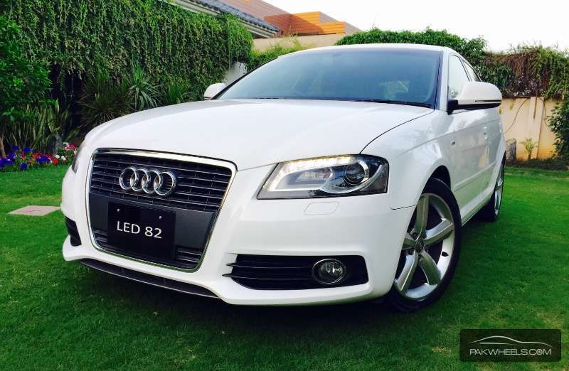 audi a3 sportback 2010 for sale in lahore pakwheels. Black Bedroom Furniture Sets. Home Design Ideas