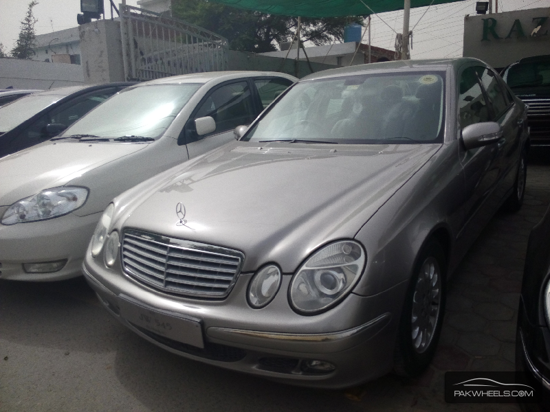 Mercedes benz e class e200 2005 for sale in lahore pakwheels for 2005 e320 mercedes benz