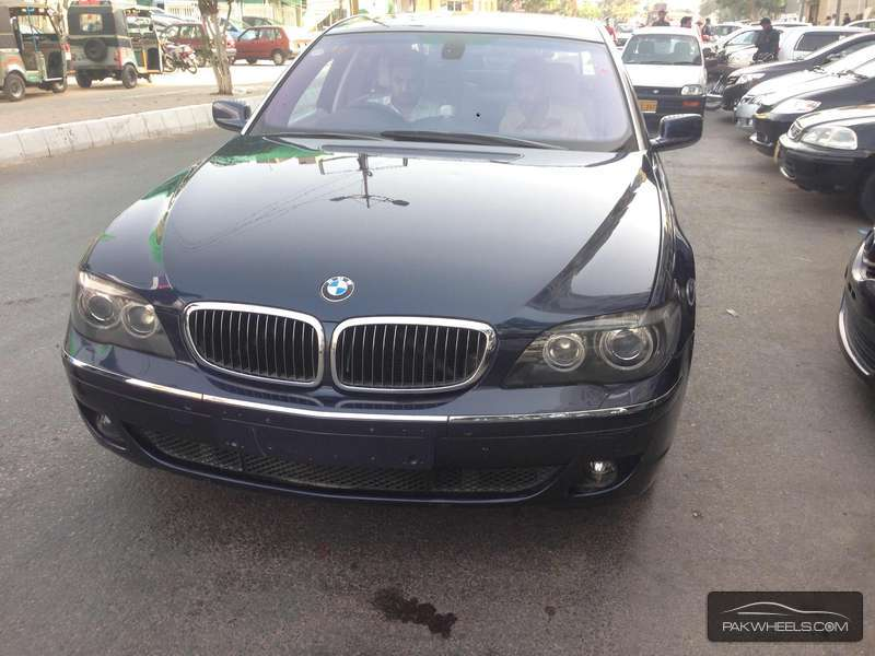 BMW 7 Series 740Li 2008