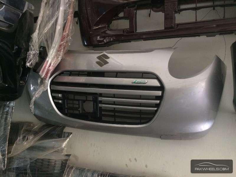 Suzuki alto Eco bumper Silver For Sale Image-1