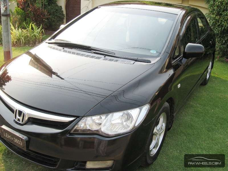 used honda civic vti 1 8 i vtec 2007 car for sale in lahore 1152284 pakwheels. Black Bedroom Furniture Sets. Home Design Ideas