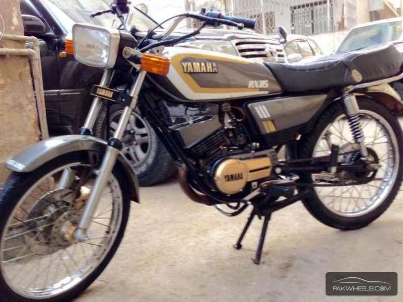Used yamaha rx 115 1984 bike for sale in karachi 138358 for Yamaha rx115 motorcycle for sale