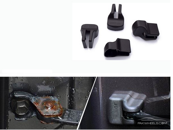 4/pcs Door Lock Protection Cover For Honda For Sale Image-1