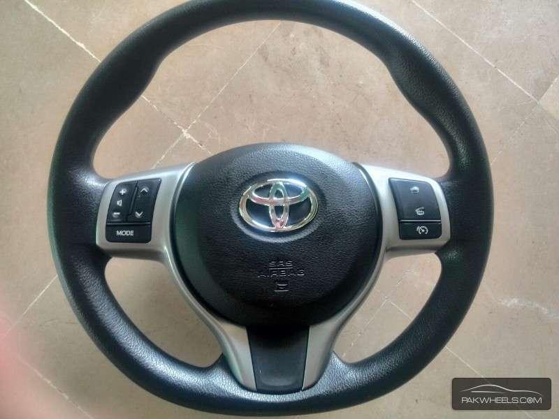 Toyota Vitz Multimedia Steering Wheel For Sale Image-1