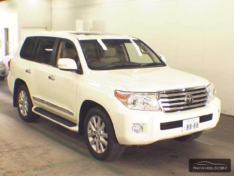 Toyota Land Cruiser ZX 2012 Image-1