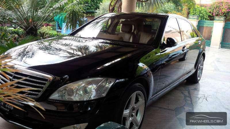Mercedes Benz S Class S500L LIM 2008 Image-1