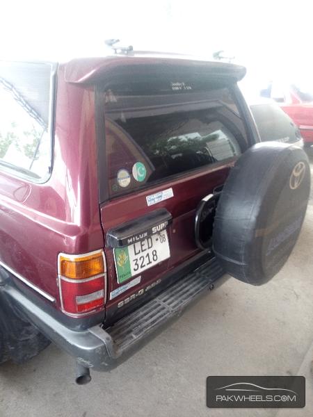 Toyota Surf SSR-G 3.4 1992 Image-4
