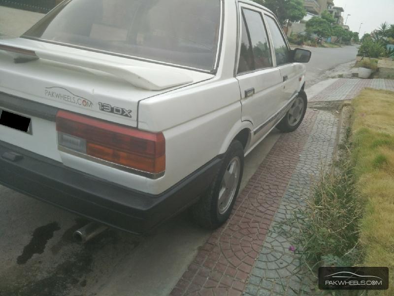 Nissan Sunny EX Saloon 1.3 1987 Image-8