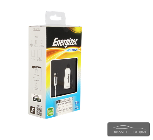 Energizer USB Car Charger for Apple Devices For Sale Image-1