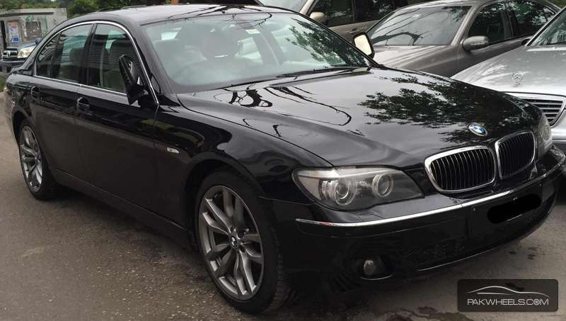 bmw 7 series 730d 2007 for sale in islamabad pakwheels. Black Bedroom Furniture Sets. Home Design Ideas