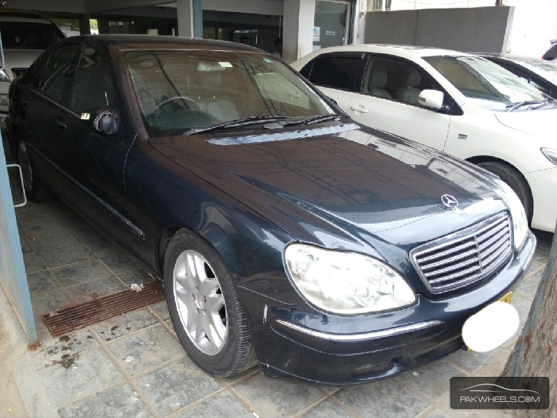mercedes benz s class s500 2001 for sale in karachi pakwheels. Black Bedroom Furniture Sets. Home Design Ideas