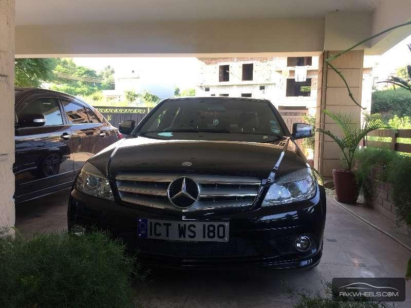 Mercedes Benz C Class C180 Kompressor 2008 Image-1