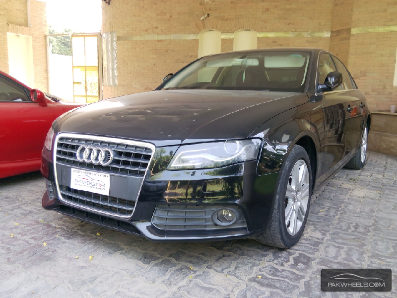 audi a4 1 8 tfsi 2009 for sale in lahore pakwheels. Black Bedroom Furniture Sets. Home Design Ideas