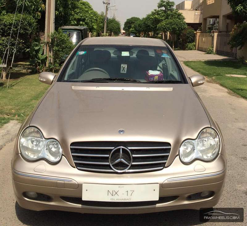 Mercedes Benz C Class C200 2002 For Sale In Lahore