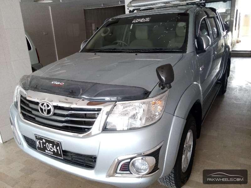 Toyota Hilux Vigo Champ G 2013 Image-2