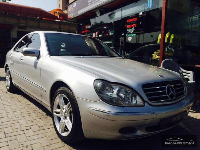 mercedes benz s class s 320 2001 for sale in islamabad. Black Bedroom Furniture Sets. Home Design Ideas