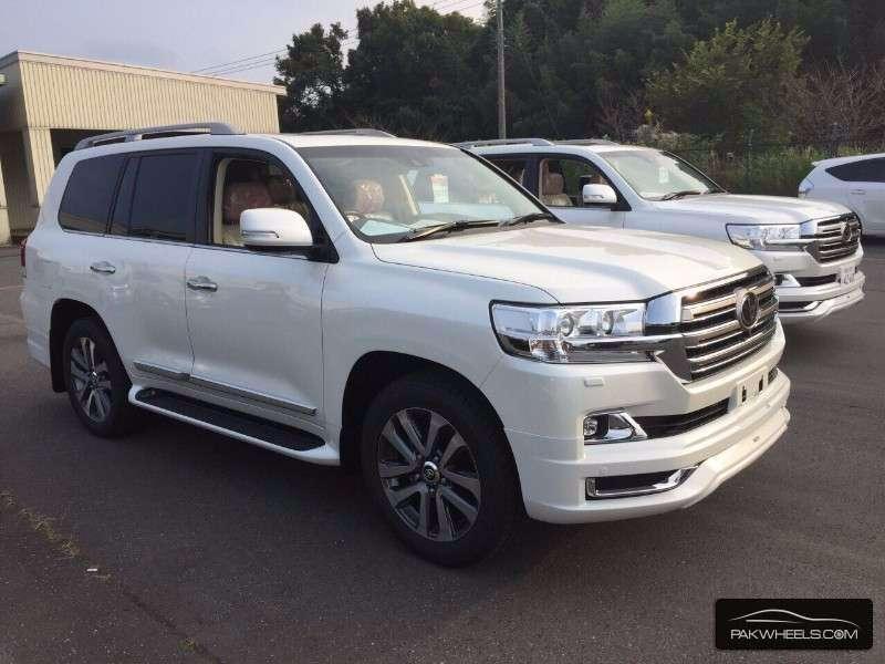 Toyota Land Cruiser Zx 2015 For Sale In Karachi Pakwheels