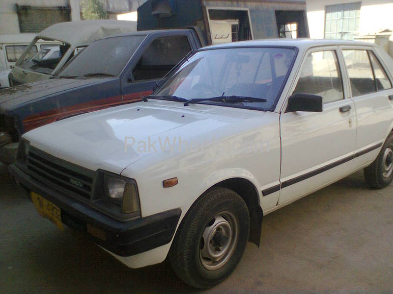 Toyota Starlet 84 For Sale In Karachi: Toyota Starlet 1983 For Sale In Karachi