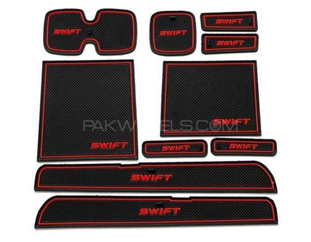 10pcs Suzuki Swift Rubber Anti Slip Mat For Sale Image-1