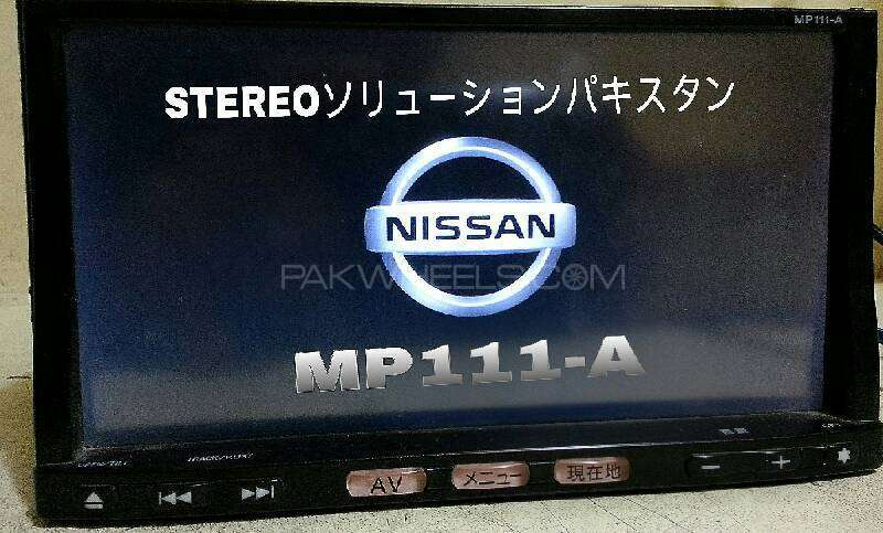 MP111-A NISSAN TV SD CARD SOFTWARE For Sale